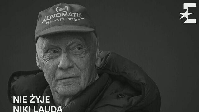 Niki Lauda nie żyje