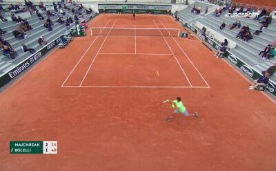 Kamil Majchrzak nie wystąpi w turnieju głównym French Open