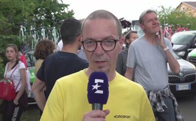 Adam Probosz podsumowuje 10. etap Giro