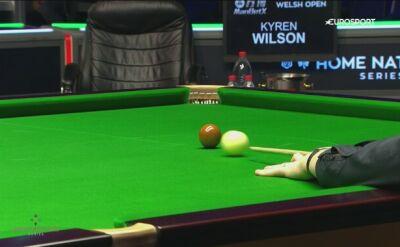 Niesamowity Kyren Wilson, 147 punktów na start
