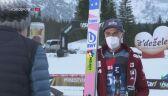 Piotr Żyła po piątkowym konkursie w Planicy
