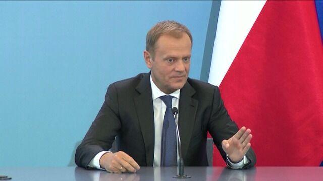 """Donald Tusk o przeszukaniu w redakcji """"Wprost"""""""