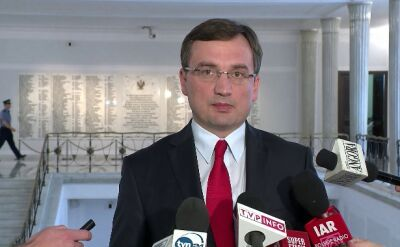 Ziobro: Premier miał okazję zachować się przyzwoicie, wybrał drogę na skróty