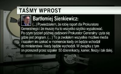 """Sienkiewicz opowiada jak """"ustawił sobie"""" Seremeta"""