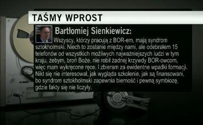 """Sienkiewicz o BOR i """"syndromie sztokholmskim"""""""