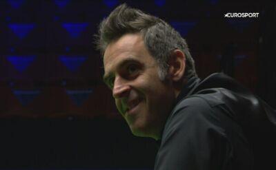 Kick i szeroki uśmiech u O'Sullivana