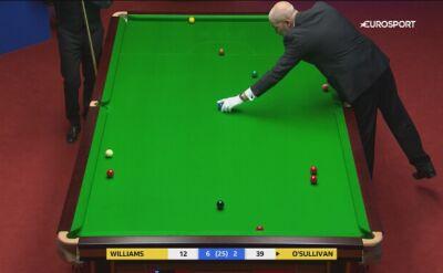 Trudne zagranie lewą ręką Ronniego O'Sullivana