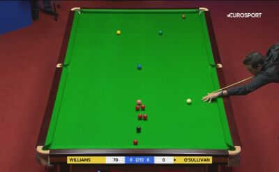 Spektakularna pomyłka O'Sullivana
