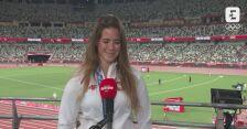 Tokio. Lekkoatletyka: rozmowa z Marią Andrejczyk po ceremonii medalowej