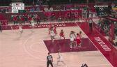 Tokio. Koszykówka kobiet. Najładniejsze akcje pierwszych 2 kwart