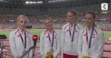 Tokio. Lekkoatletyka: rozmowa ze srebrnymi medalistkami w sztafecie 4x400 m