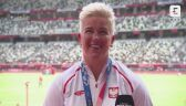 Tokio. Lekkoatletyka: Anita Włodarczyk po ceremonii medalowej