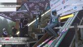 Skok Jakuba Wolnego w 2. serii konkursu LGP w Courchevel