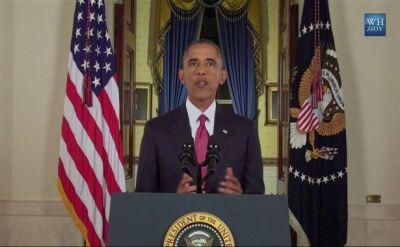 """Obama zapowiada naloty na terrorystów """"gdziekolwiek się znajdują"""""""