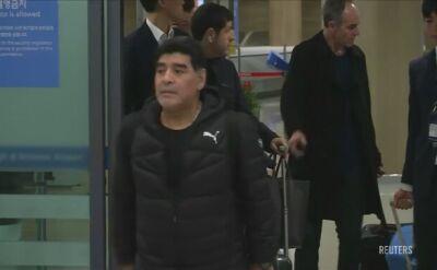 Maradona promuje Mistrzostwa Świata U-20 w Korei