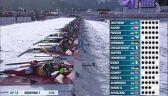 Najciekawsze momenty biegu masowego kobiet na 12,5 km w Hochfilzen