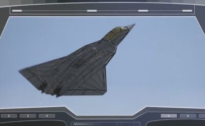 Krótkie wideo pokazujące francuską wizję myśliwca piątej generacji