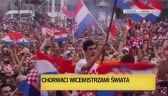 Chorwacja dumna z piłkarzy