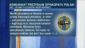 Komunikat Prezydium Episkopatu Polski dot. in vitro