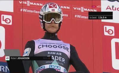 Johansson wygrał w Oslo