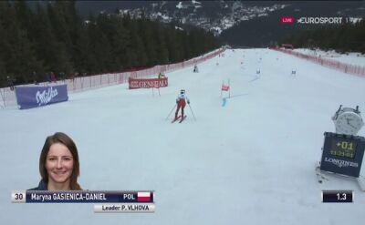 Maryna Gąsienica-Daniel ominęła trudną bramkę