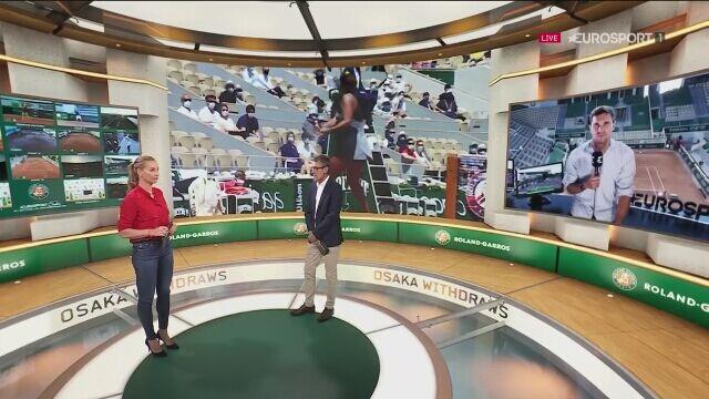Mats Welander sobre la retirada de Naomi Osaka de Roland Garros
