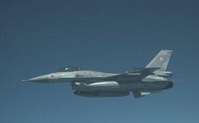 Polskie F-16 w powietrzu
