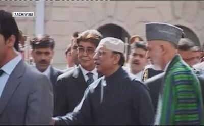Asif Ali Zardari był prezydentem Pakistanu w latach 2008-2013