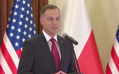 Prezydent Duda do Polonii w Houston: dziękuję za trwanie przy Polsce
