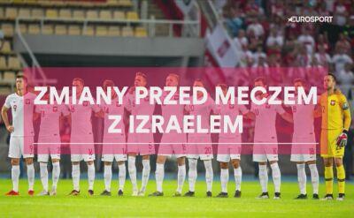 Prawdopodobne ustawienie Polski na mecz z Izraelem