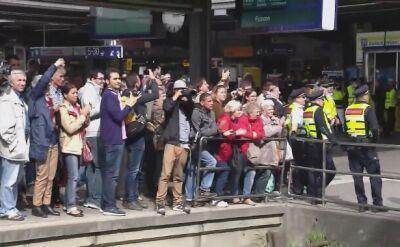 Uchodźcy z dworcu w Budapeszcie dotarli już do Niemiec. Przywitano ich brawami