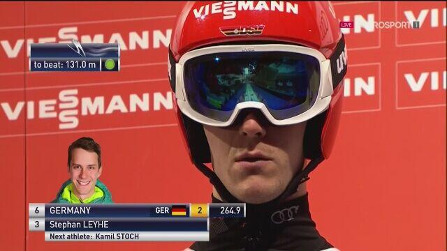 Stephan Leyhe najdalej w 1. serii konkursu drużynowego w Zakopanem