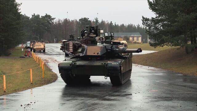Amerykański czołg M1 Abrams