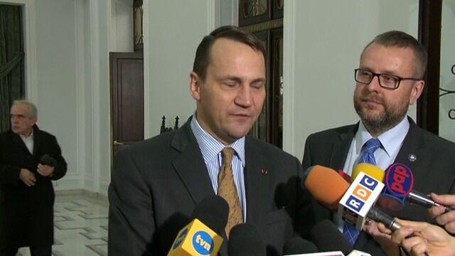 Sikorski zapowiada wyjazd do Kijowa