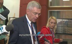 Karczewski: nie zmieniam swojej opinii na temat Łapińskiego