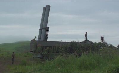 Rosyjskie wyrzutnie systemu Bastion atakują cele na morzu