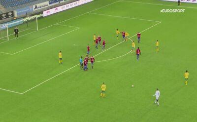 Gol a la Cristiano Ronaldo w Norwegii