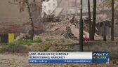 Runęło skrzydło kamienicy w centrum Łodzi