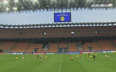 Borussia Dortmund trenuje przed meczem z Interem