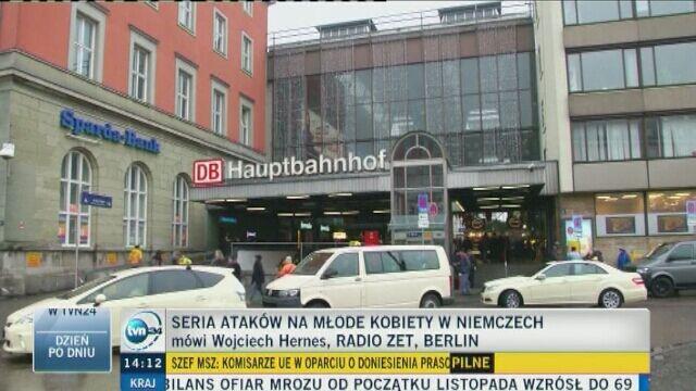 Ataki na kobiety w niemieckich miastach. Relacja Wojciecha Hernesa