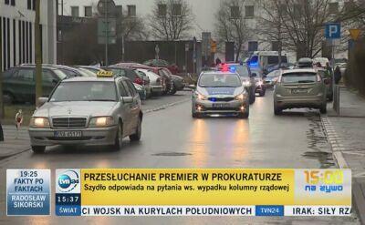 Adwokat Sebastiana K. niewpuszczony na przesłuchanie premier Szydło