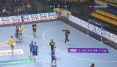 Fenomenalna obrona rzutu karnego przez bramkarza Mieszkowa w meczu z Vive