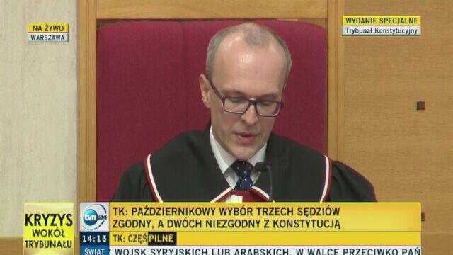 TK umorzył postępowanie w zakresie przepisów dot. kryteriów wiekowych kandydatów na sędziego