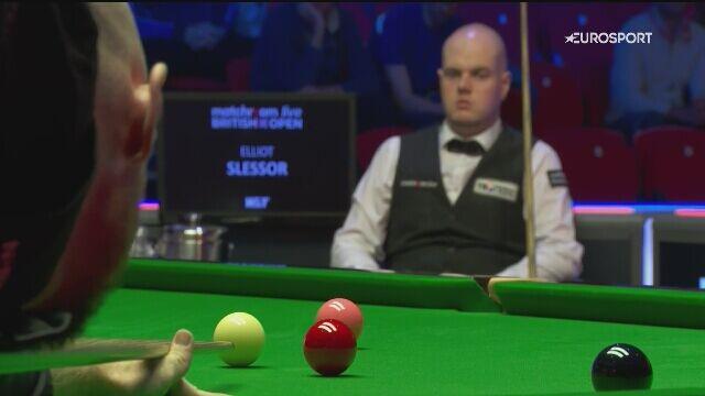 Setka Wilsona w starciu z Slessorem w półfinałowej rundzie British Open
