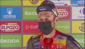 Damiano Caruso po wygraniu 9. etapu Vuelta a Espana