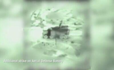 Izrael ostrzelał również syryjską obronę przeciwlotniczą