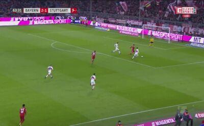 Zmarnowany karny i gol Roberta Lewandowskiego ze Stuttgartem