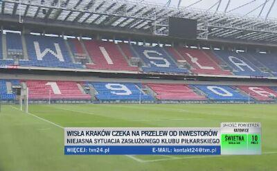 Wisła Kraków bez przelewu i bez nowego właściciela