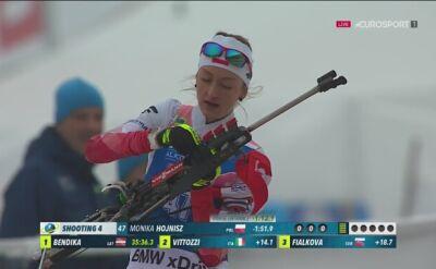 Drugie podium Hojnisz w karierze