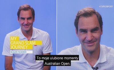 Moja wielkoszlemowa podróż: Roger Federer